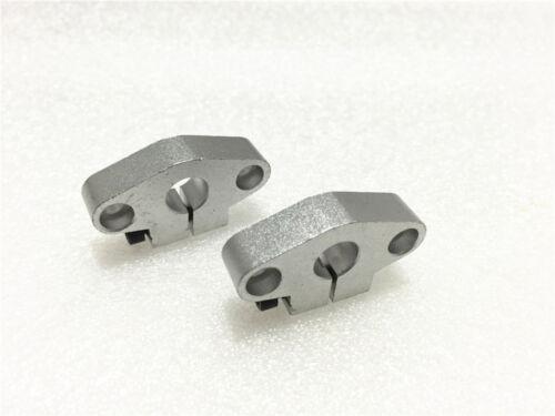 2pcs SHF10 10mm Linear Rod Guide Rail Shaft Support Bearing Aluminum CNC Parts