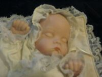 """Two Realistic Looking Baby Movable Collectable """"Music Boxes"""""""