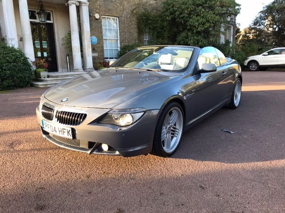 Bmw 645ci converitible alpine rep 70k on the clock mint condition px welcome
