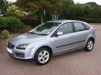 Ford focus 1.6 petrol drives like new needs wiper blades and rear tyre