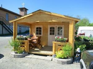 13'x 20'Log Cabin / Bunkie KITS incl. over  $1,000.00 of extras