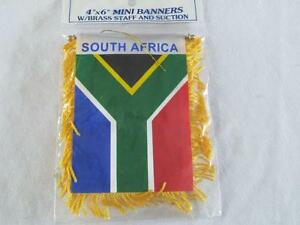 South Africa Rear View Mirror Mini Banner
