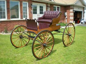 Restored Horse Drawn Carriage