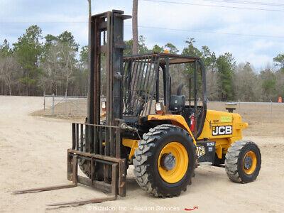 2012 Jcb 930 6000 Lbs Rough Terrain Forklift Lift Truck Diesel Bidadoo