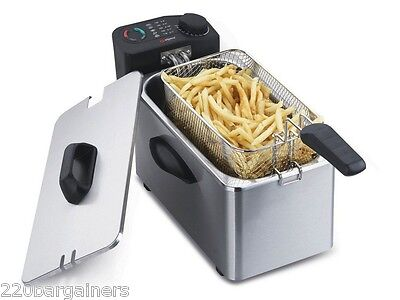 Alpina NEW 220 Volt 3.5L Deep Fryer for Europe UK Asia Afric