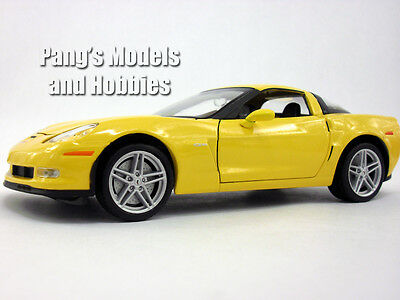 Chevrolet Corvette Z06 (2007) 1/24 Scale Diecast Metal Model - YELLOW for sale  Shipping to Canada