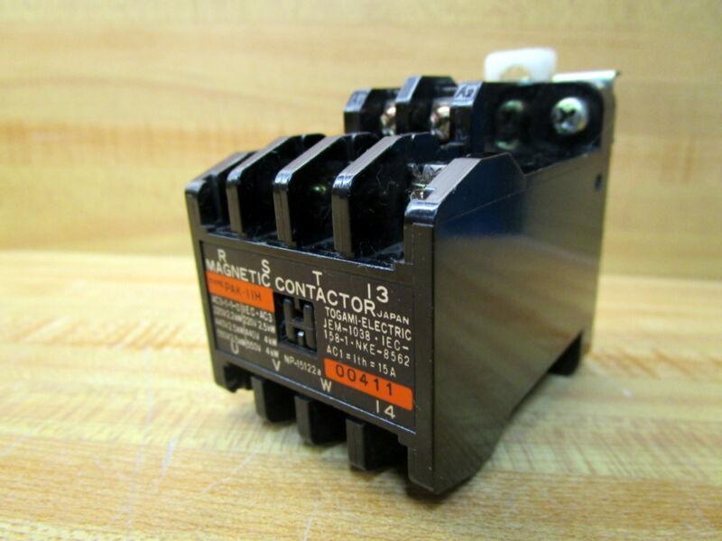 Togami PAK-11H Contactor PAK11H