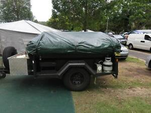 GIC 2011 Off road 7' x 4' Camper Trailer with 18ft Tent & Annex Wadalba Wyong Area Preview