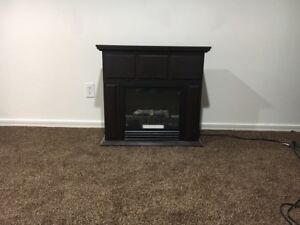 Electric fireplace for $75