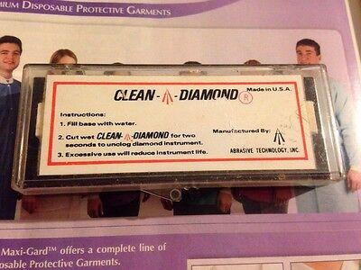 Clean Diamond Dental Tool