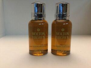 Molton Brown BLACK PEPPERCORN Body Wash 1oz Travel Size Pepper Spicy *LOT 2*