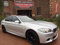 BMW 5 SERIES 530D M SPORT (silver) 2012