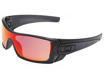 - Oakley Batwolf Sunglasses OO9101-38 Matte Black Ink/Ruby Iridium