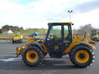 Dec 2011 JCB 526-56 Agri with new radial tyres, PUH, reversible fan