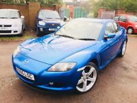 Mazda rx8..231 bhp 6 speed full mot mint runner nationwide delivery 1395