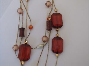 Beautiful necklace in neutral colours Kitchener / Waterloo Kitchener Area image 1