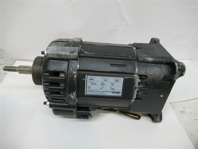 Crown 02135700R, 36 Volt Motor, A7AA14, 1690 RPM, Remanufactured