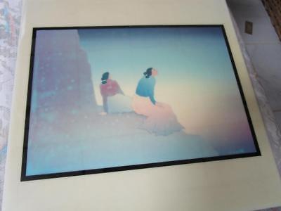 "RC Gorman ""Enchanted Mesa, 1989"" Ceramic Art Tile Southwest Gift 12 X 12"""
