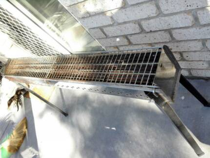 skewer grill almost a metre long