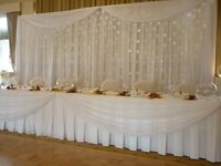 Cheap Quality Wedding Backdrop with Star light in Manchester/ North West Are