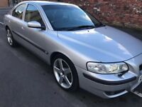 2004 04reg Volvo S60r 2.5 Turbo 300bhp Silver Automatic Silver Low Mileage
