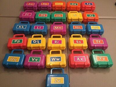 SUPER RARE Lakeshore Alphabet Tubs Preschool