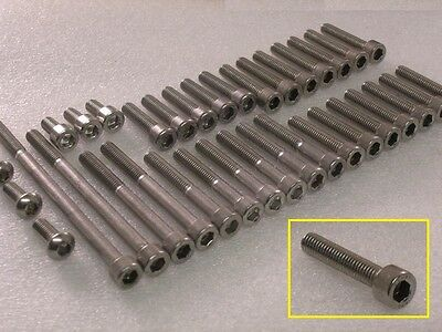 Yamaha SR250 engine covers 50pcs stainless steel socket capscrew allen bolt kit , used for sale  Shipping to Ireland