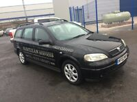 VAUXHALL ASTRA CLUB (black) 2002