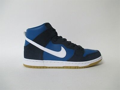 Nike Sb Dunk High Obsidian Industrial Blue White Gum Supreme Sz 8 854851 414