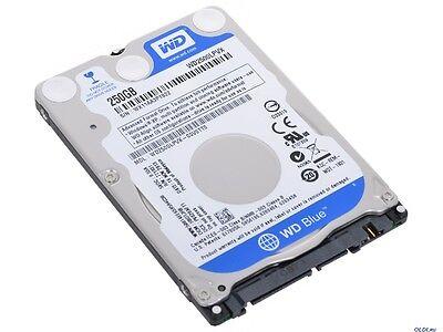 """Western Digital Blue 250 GB 5400 RPM 2.5"""" WD2500LPVX Hard Drive HDD Sata III 1"""