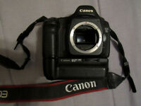 Canon 5D body only with battery pack