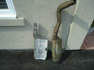 2006 CBR 600 RR Motorcycle exhaust