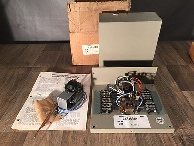 FEDDERS Thermizer Control & Outdoor Thermostat NOS CKX060H1 & 19-03-02970-002