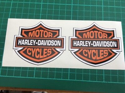 Harley davidson decals stickers Pack Of 2!