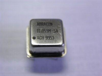 5 Abracon Ach-11.059m-sa Half-size Dip 5v 11.0592mhz Crystal Clock Oscillators