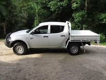 2012 Mitsubishi Triton  4X4  Trayback ute Limpinwood Tweed Heads Area Preview
