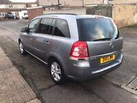 Vauxhall Zafira 2011 Plate - 1.8L Petrol & Gas MPV