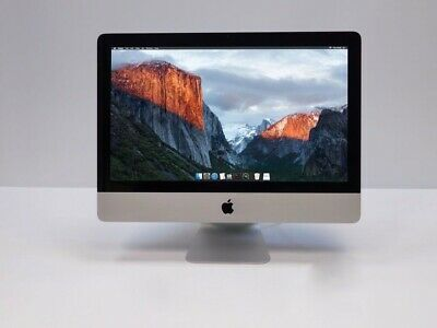 "Apple iMac 21.5"" desktop computer All-in-one A1311 Mid 2011 i5 2.5GHZ 8GB 500GB"
