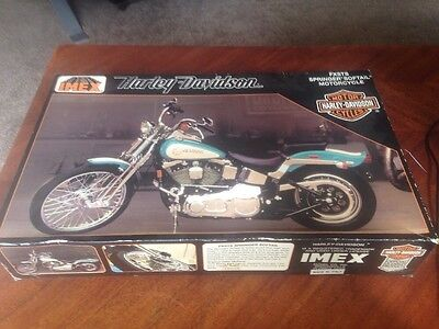IMEX - Harley-davidson, Model 401 FXSTS Springer Softail Motorcycle, 1/9 Scale