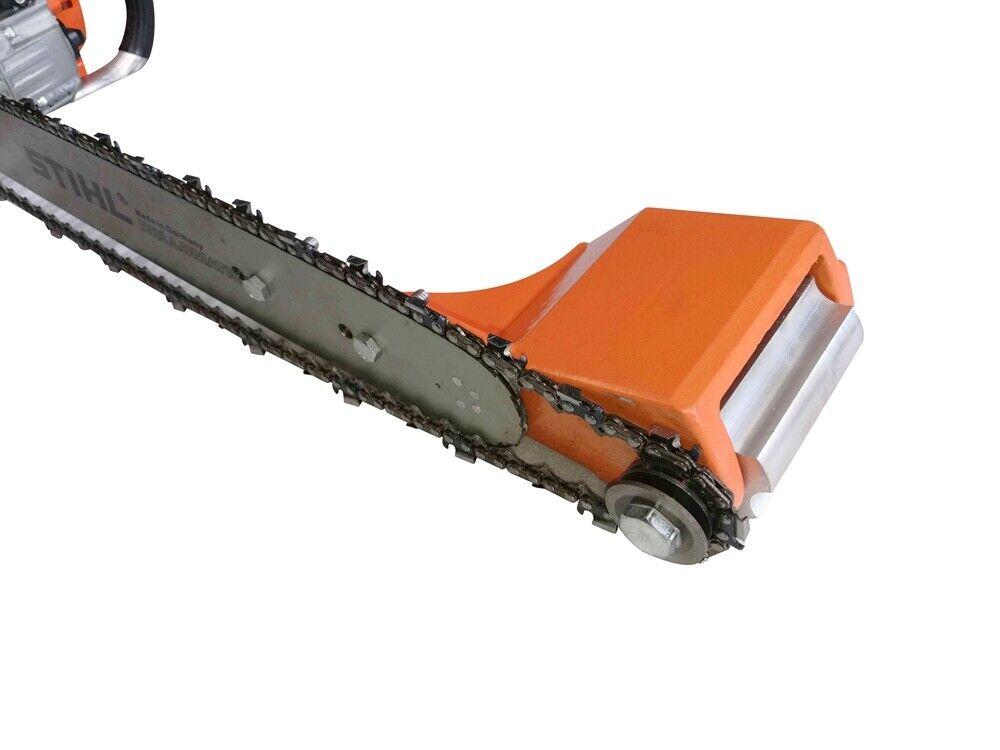 log debarker peeler log notcher chainsaw attachment