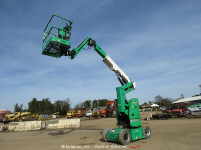 2012 Jlg E300ajp 30 Electric Articulating Boom Lift Man Aerial Jib Bidadoo