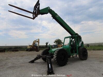 2013 Jlg Skytrak 10054 10000lb Telescopic Reach Fork Lift Telehandler Bidadoo