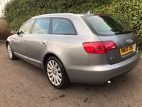 CHEAPEST IN UK* 2008 Audi A6 Avant Estate Facelift 2.0 TDI 5dr DIESEL AUTOMATIC VOSA CHECKED HISTORY