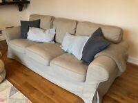 IKEA EKTORP Three-seat sofa in excellent condition