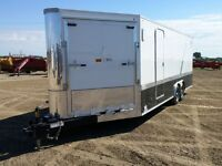 2015 RoyalCargo XR 4 Place Enclosed Snowmobile Trailer