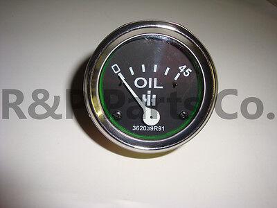 362039r91 Oil Gauge 45 Psi For Ih Farmall Diesel 350 400 450 460 560 600 3616