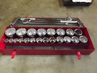 3/4 Socket Set