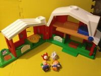 'Fisher Price' Little People Farm w/Sounds