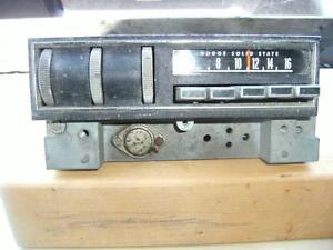 CHRYSLER,  DELCO, CHEVY II,  RADIO DELETE PANEL