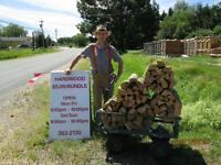 Bundled Hard Wood Firewood & Cedar Kindling